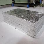 カンプレッサー5型 アルミ箔の取出し後