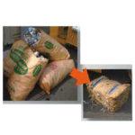 袋入りゴミ(原料袋)